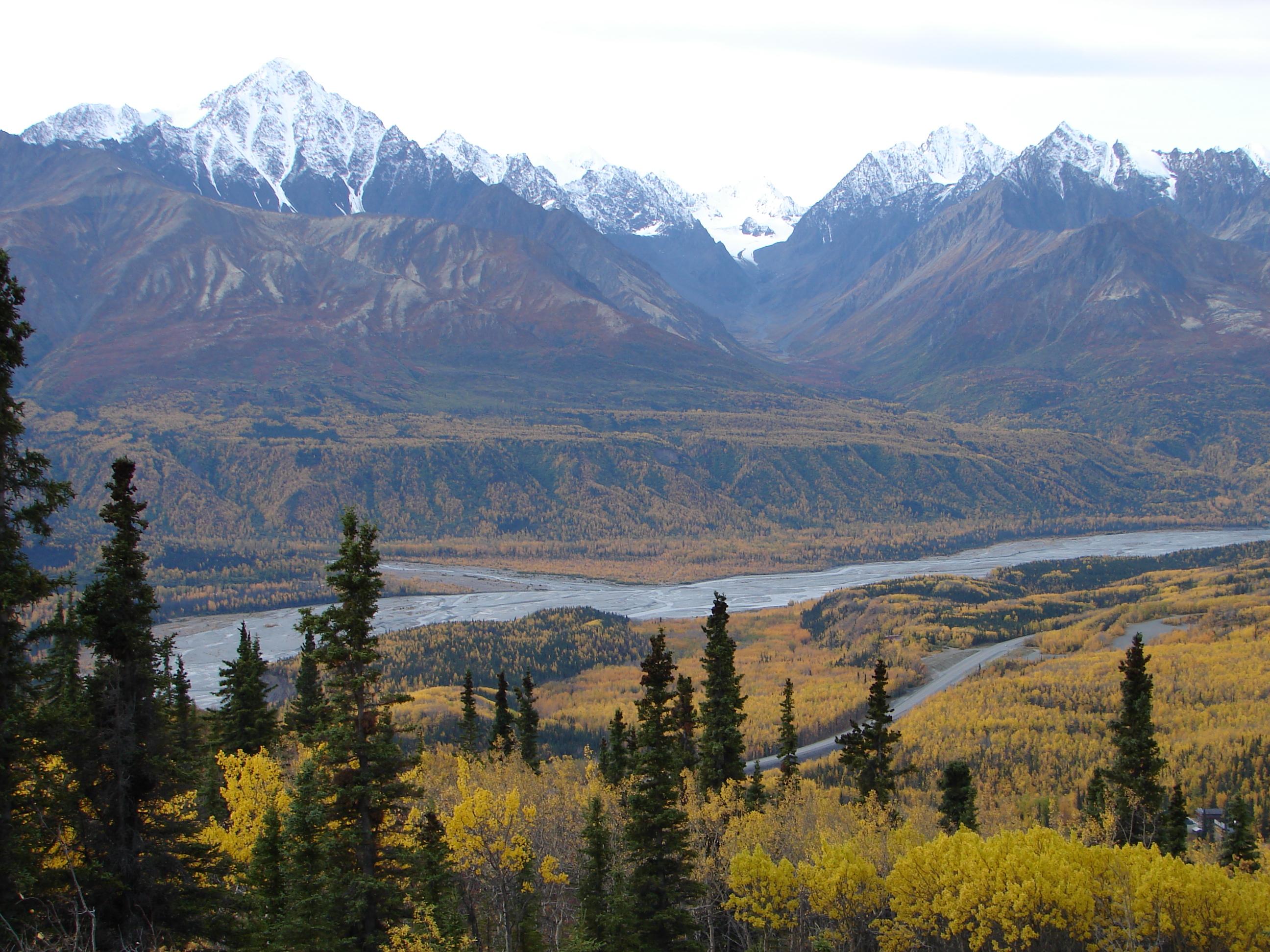 Gorgeous Mountain View in Alaska