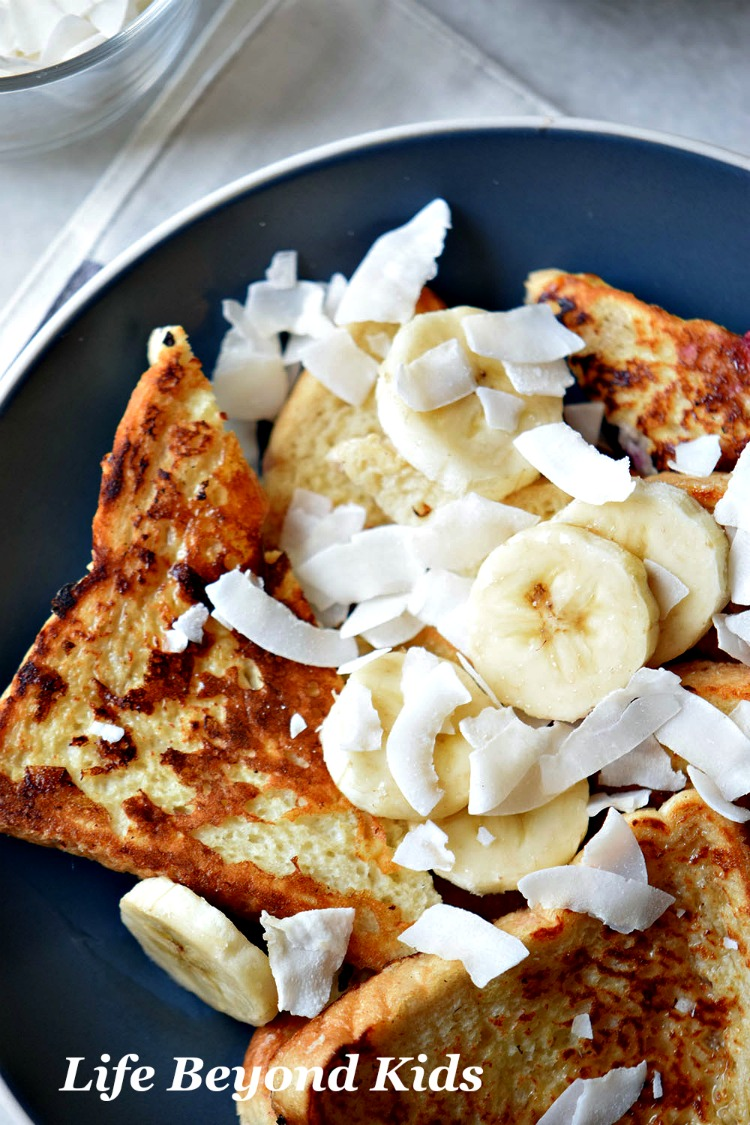 A golden crispy crust is what makes for a good french toast.