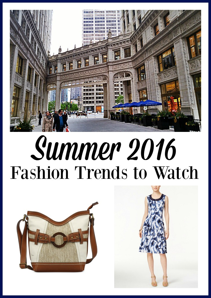 Check out these Summer 2016 Fashion Trends to watch.