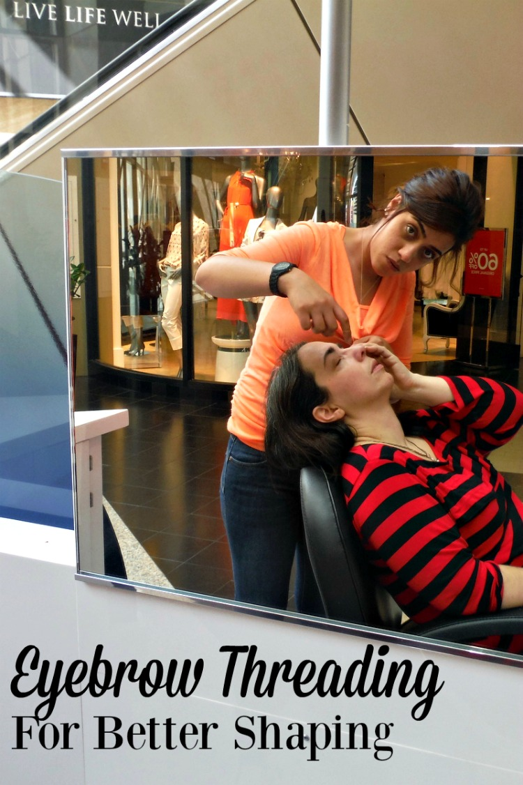During a recent trip to Chicago I decided to experience eyebrow threading for better control. Read all about it.