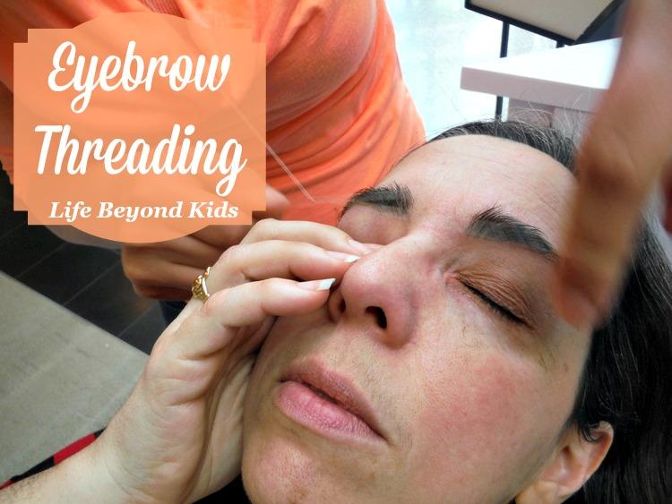 Eyebrow Threading Life Beyond Kids
