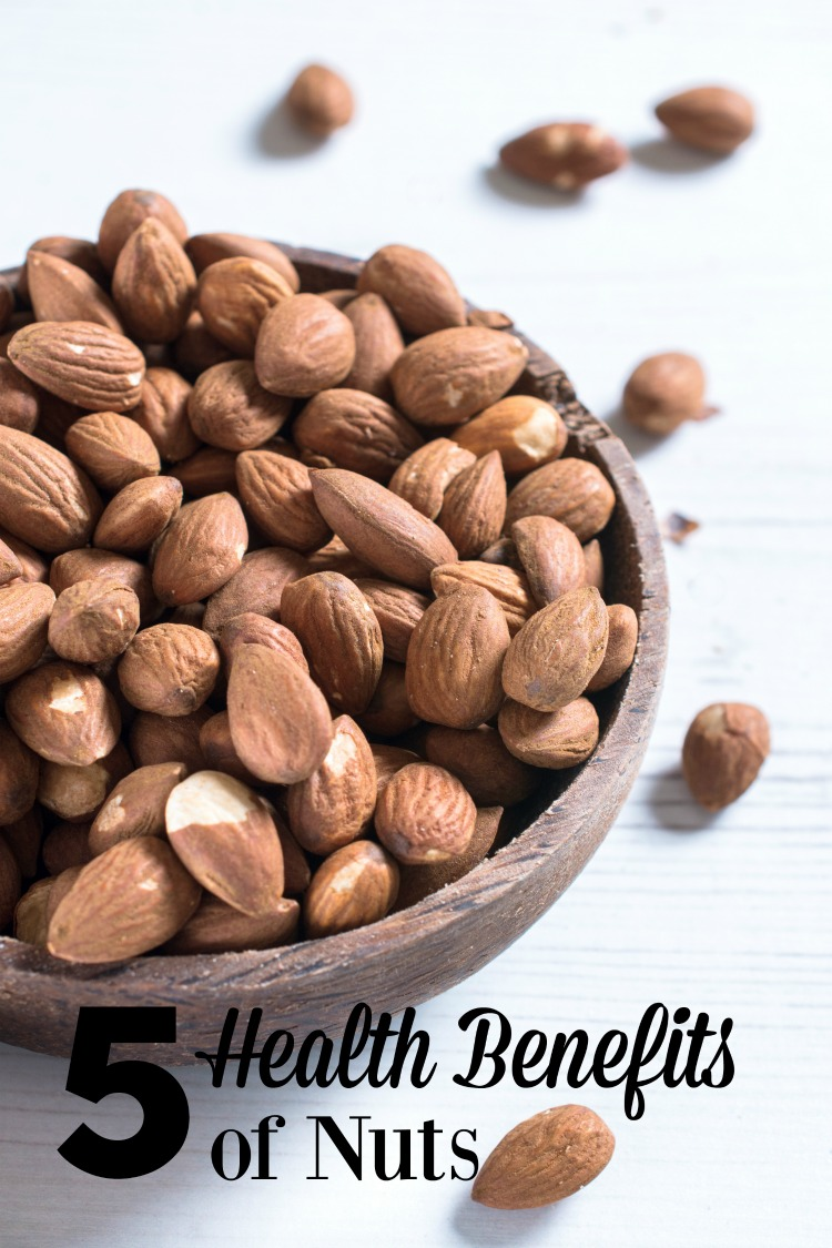 Love Nuts? Here are 5 health benefits to nuts which will have you keeping them in your diet.