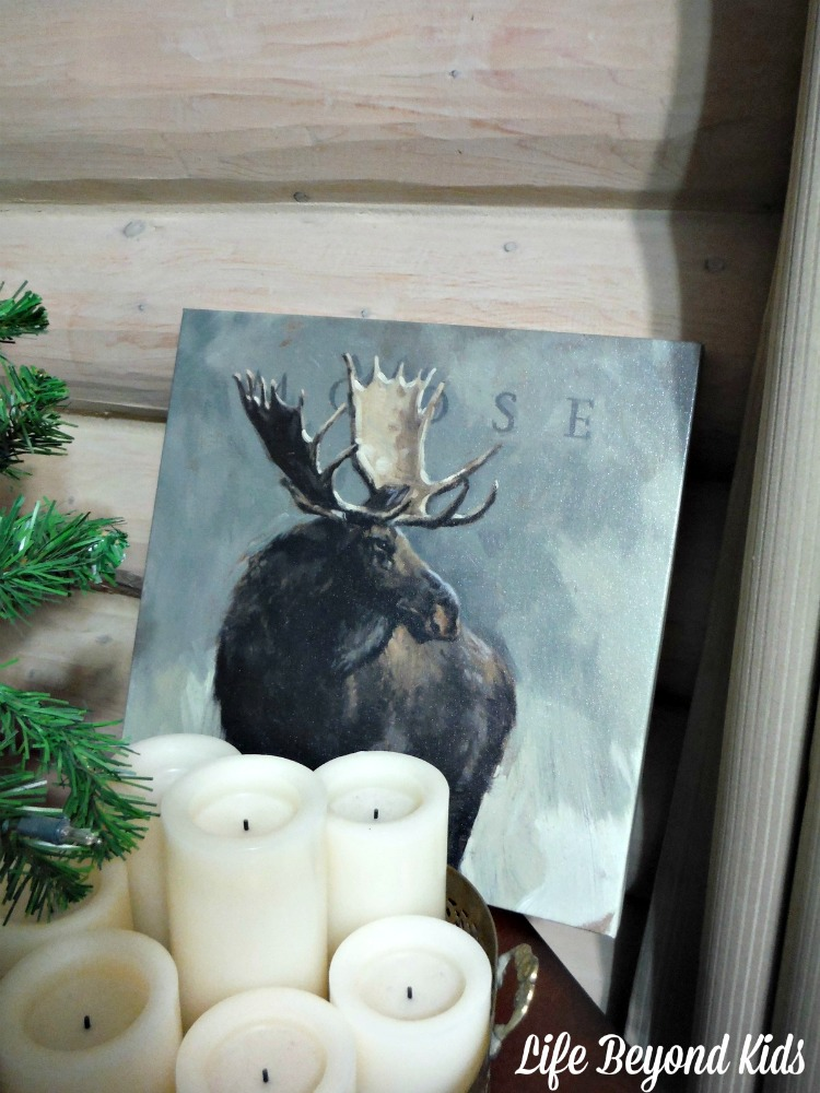 Deck Your Walls With Selections Like This Moose Painting From The Lodge Collection By Darren Gygi
