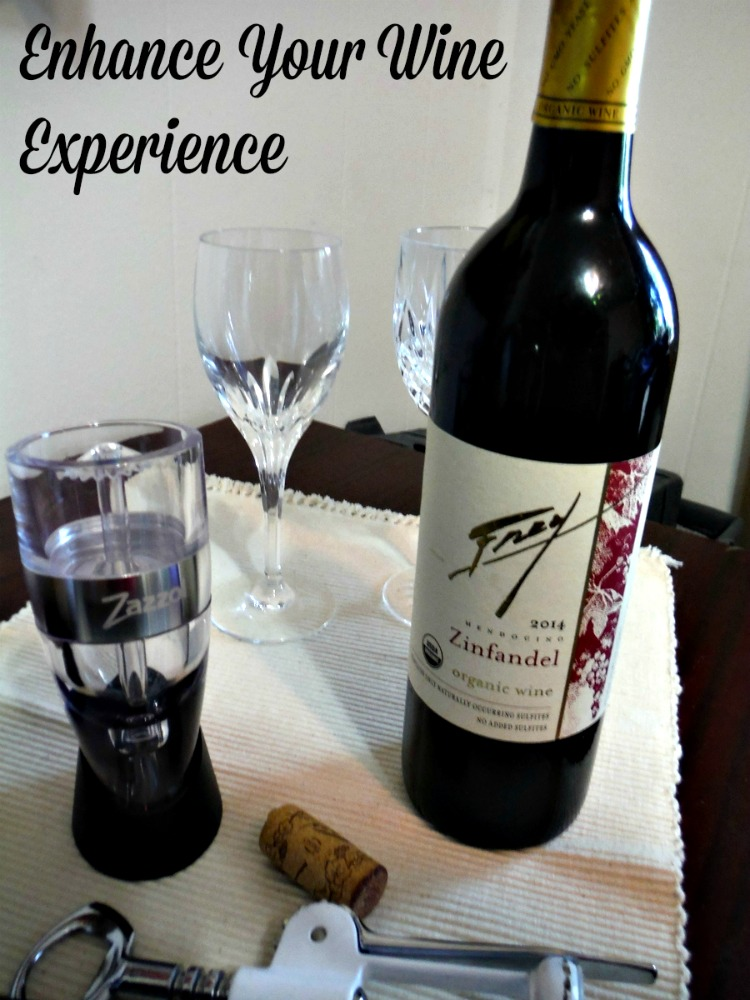 Looking to Enhance Your Wine Experience Consider adding a Zazzol Wine Aerator to your kitchen
