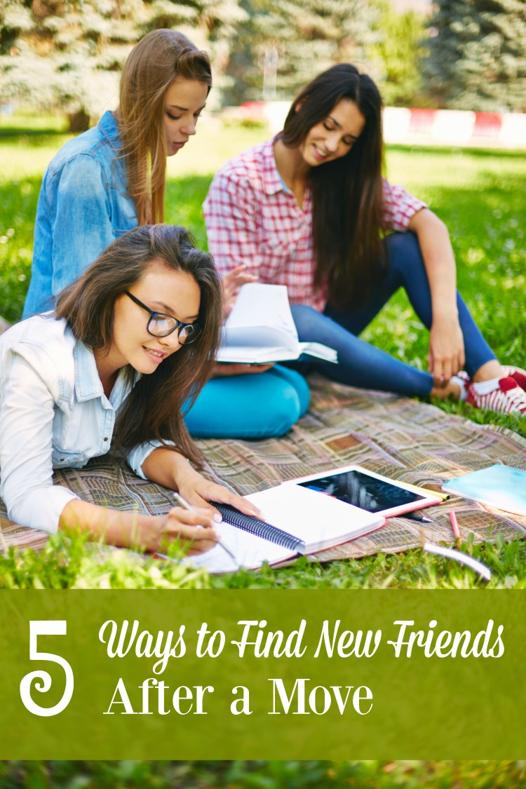 Moving to a new area can be challenging enough without considering the friends you leave behind. Here are 5 ways to find new ones at your new location.