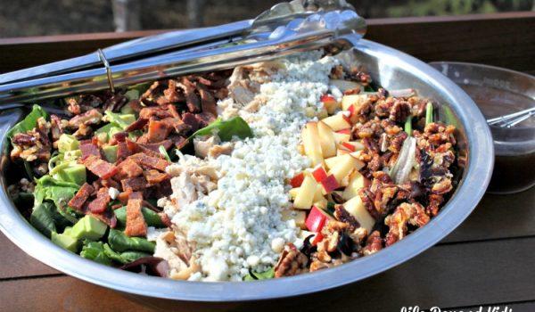 Chicken Salad with Balsamic Vinaigrette Dressing