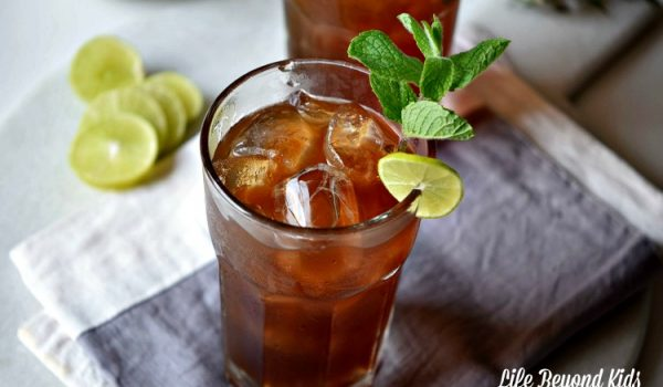 Dark and Shandy Cocktail