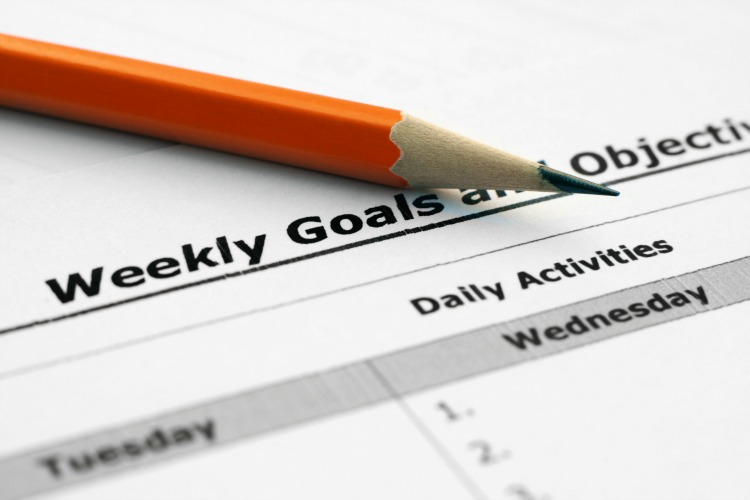 For Success You Should Set Goals and Write them Down
