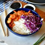 Easy Dinner Option: Marinated Shrimp Bowls