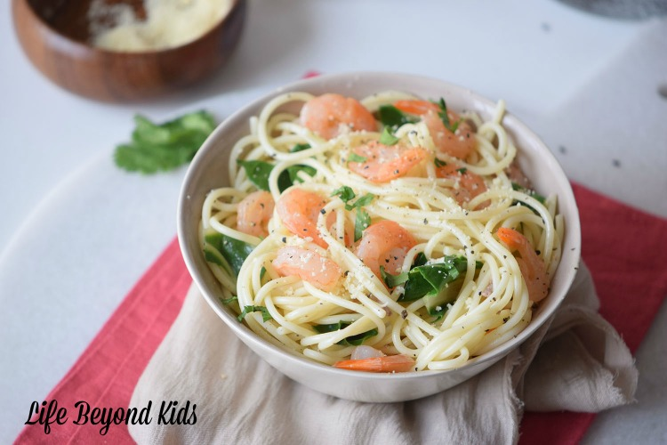 Garlic Butter Pasta with Shrimp: Bring the Restaurant Home