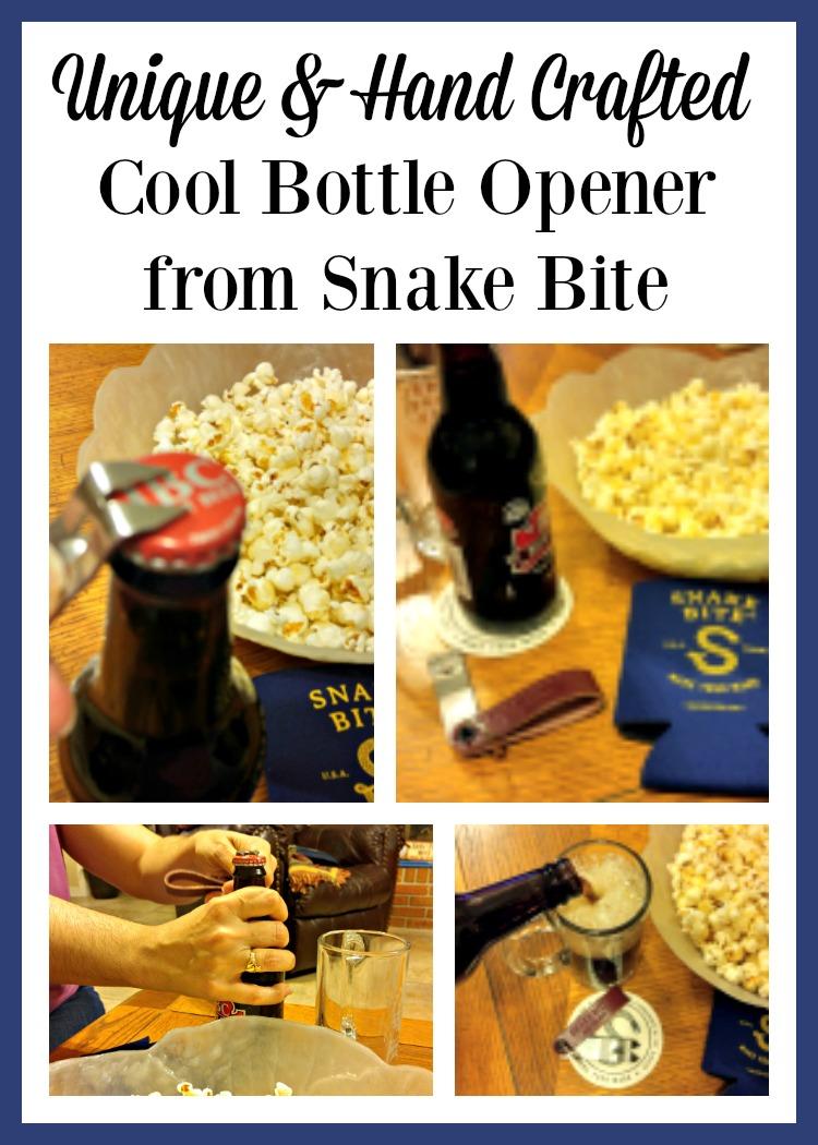 A Cool Bottle Opener by Snake Bite that is unique and hand crafted