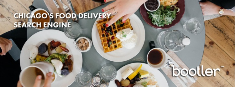 Any meal can be ordered via Bootler in Chicago.