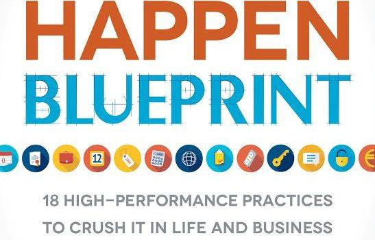 Make It Happen Blueprint Book Blast