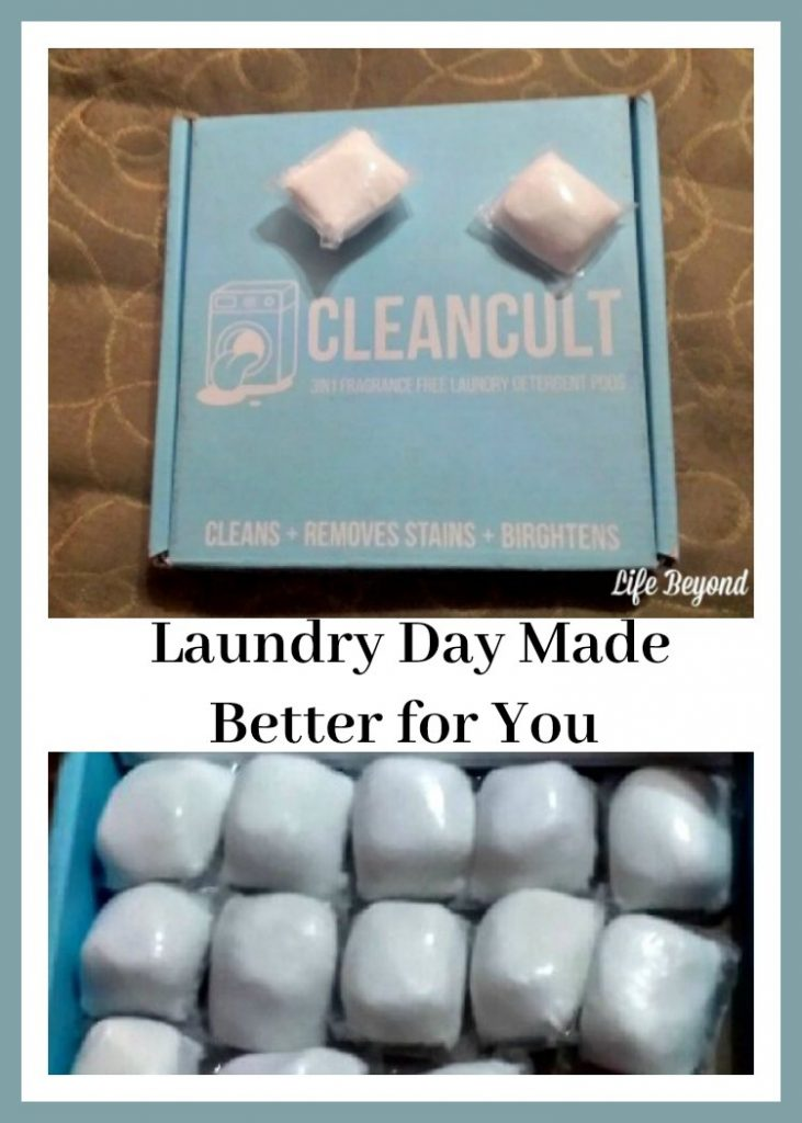 Laundry Day Made Better for You with Cleancult
