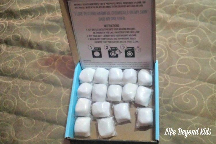 You receive 20 pods in a Cleancult box.