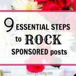 Improve Blog Earnings Through Sponsored Posts