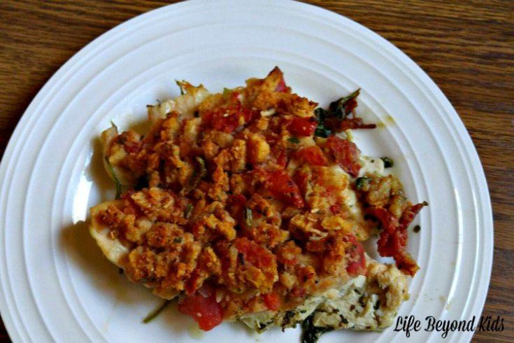Easy Baked Bruschetta Chicken for Dinner