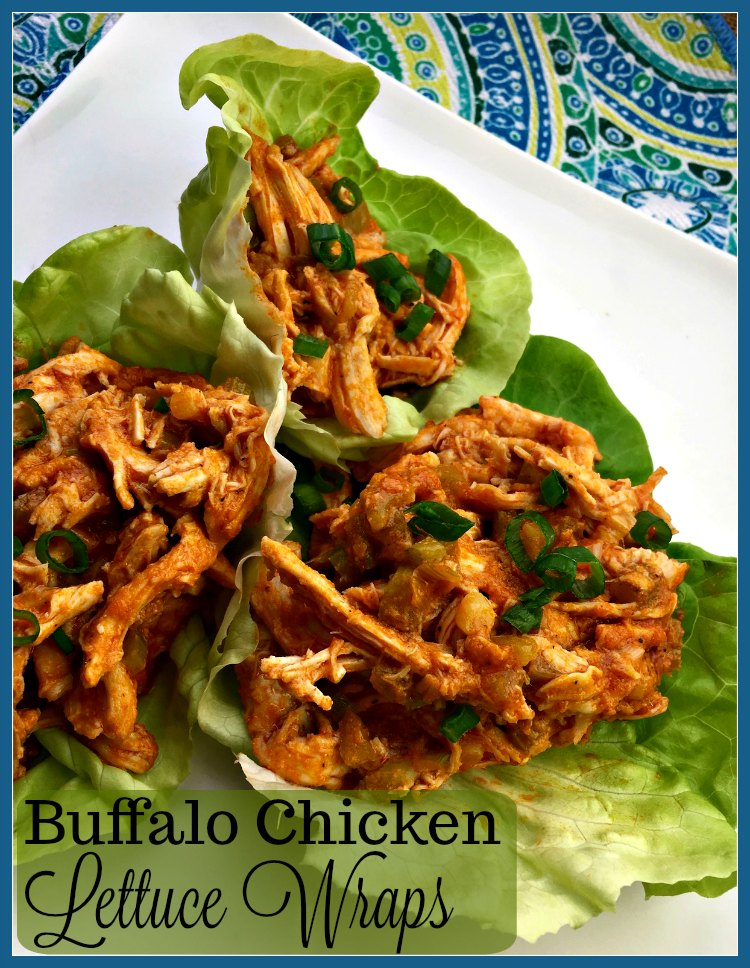 Enjoy all the flavor without the guilt when you eat these Buffalo Chicken Lettuce Wraps