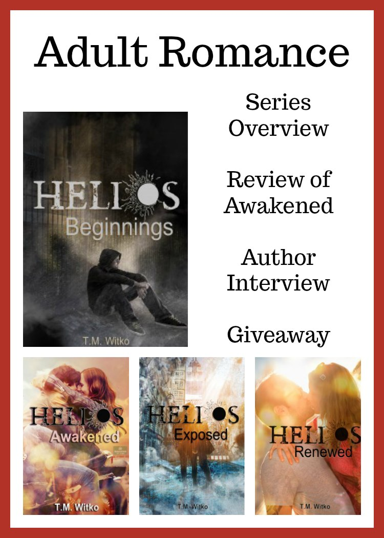 Read more about The Helios Chronicles. Includes Overview, Review of one novel, and author interview.