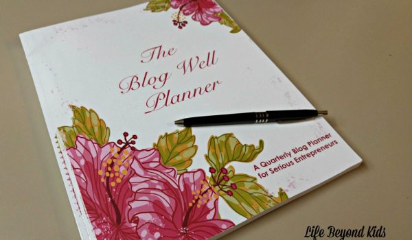 Organize Your Workflow with The Blog Well Planner