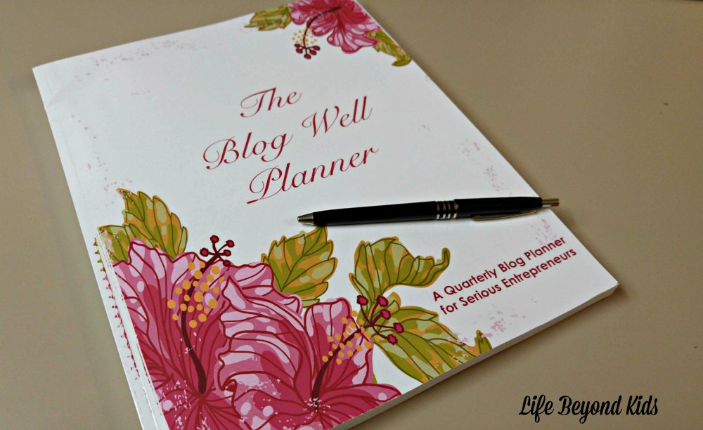 The Blog Well Planner