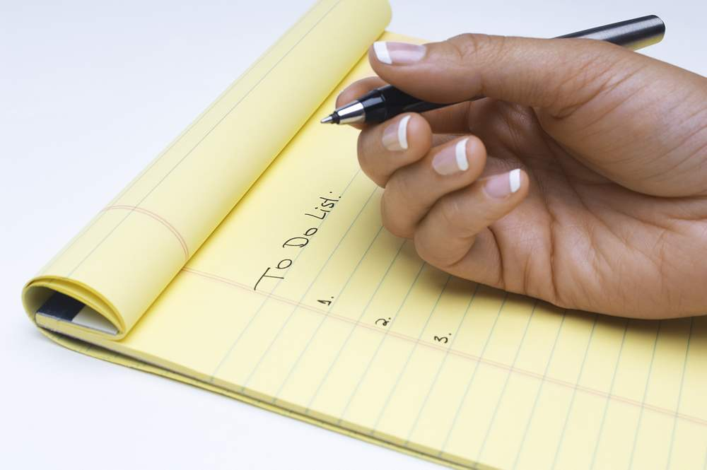To Do Lists to Keep on Track and Productive