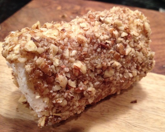 Pecan-Crusted Goat Cheese Logs