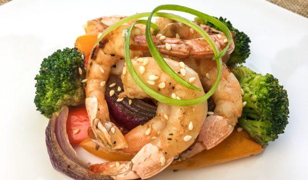 Roasted Asian Shrimp